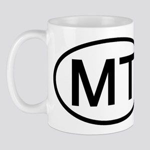 Montana - MT - US Oval Mug