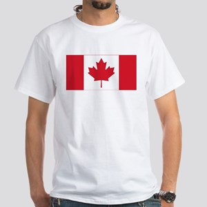Canadian Flag White T-Shirt