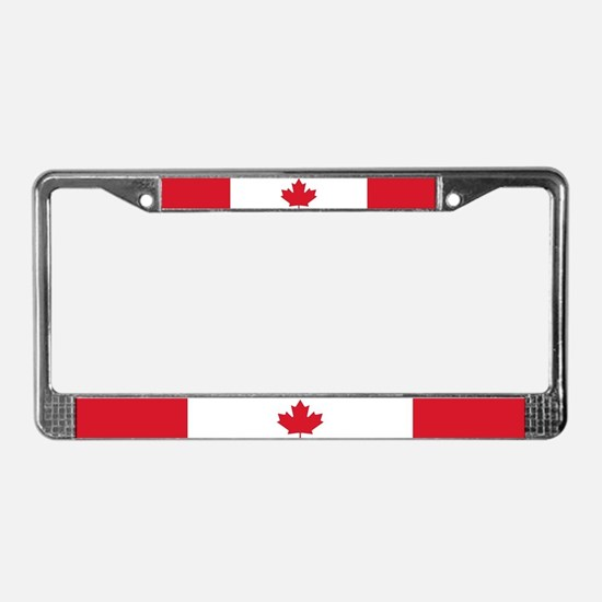 Canadian Flag License Plate Frame