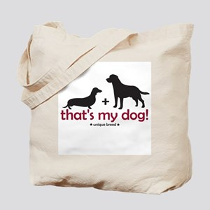Lab/Doxie Tote Bag