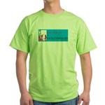 Svoh On A Green T-Shirt
