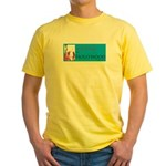 Svoh On A Yellow T-Shirt