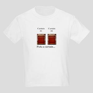 Whats Behind Curtains #1 & 2 Kids T-Shirt