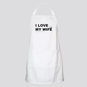 Golfing I love my wife Apron