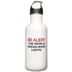 More Lerts Water Bottle