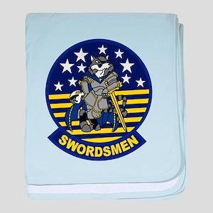 VF-32 Swordsment baby blanket