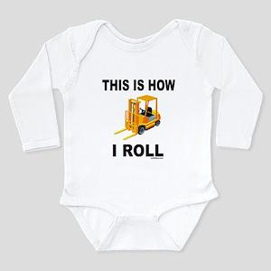 FORKLIFT OPERATOR Long Sleeve Infant Bodysuit