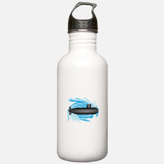 TO NEW DEPTHS Water Bottle