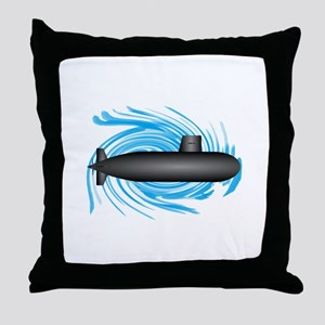 TO NEW DEPTHS Throw Pillow