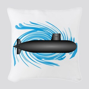 TO NEW DEPTHS Woven Throw Pillow
