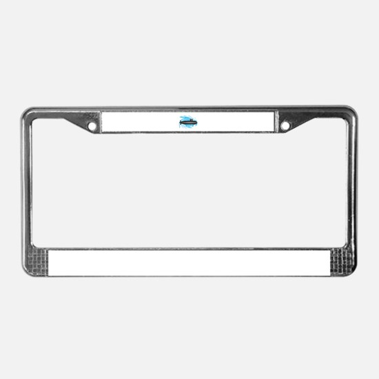 TO NEW DEPTHS License Plate Frame
