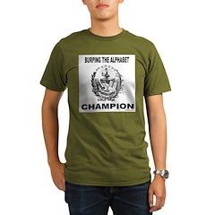 BURP THE ALPHABET Organic Men's T-Shirt (dark)