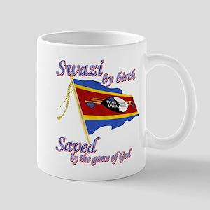 Swazi by birth Mug