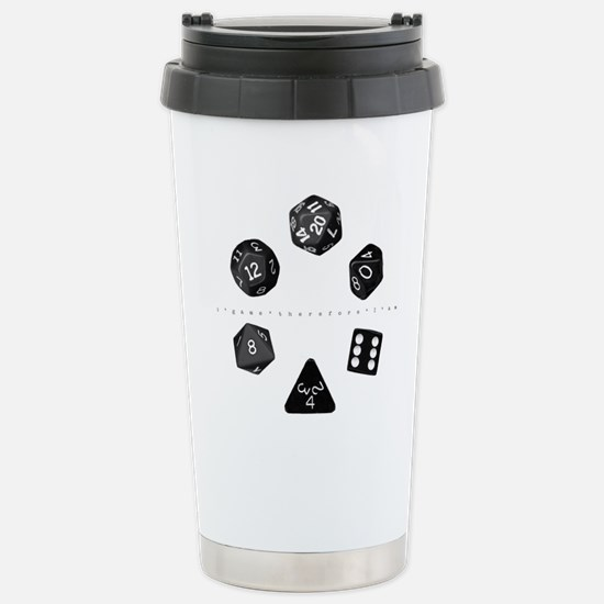 Dice Ring Stainless Steel Travel Mug