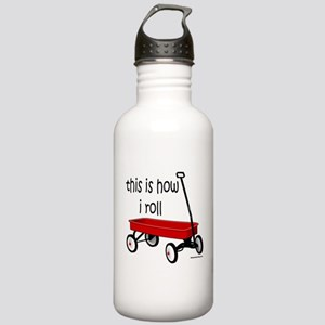 LITTLE RED WAGON Stainless Water Bottle 1.0L