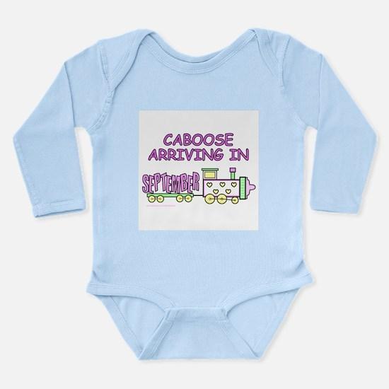 DUE IN SEPTEMBER Long Sleeve Infant Bodysuit