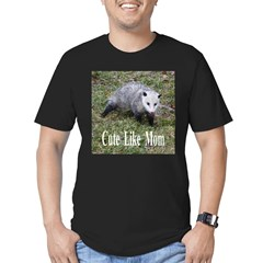 Opossum Men's Fitted T-Shirt (dark)