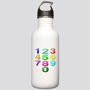 COUNTING/NUMBERS Stainless Water Bottle 1.0L