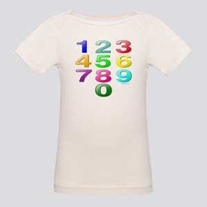 COUNTING/NUMBERS Organic Baby T-Shirt
