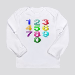 COUNTING/NUMBERS Long Sleeve Infant T-Shirt