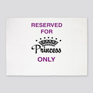 Reserved for Princess only 5'x7'Area Rug