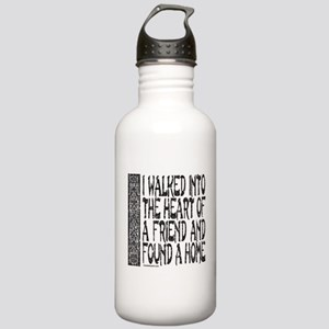 HEART OF A FRIEND Stainless Water Bottle 1.0L