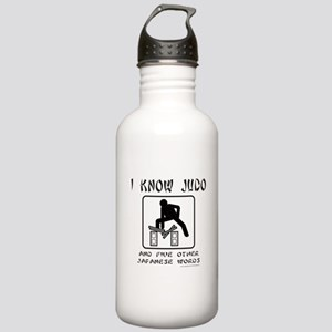 I KNOW JUDO Stainless Water Bottle 1.0L