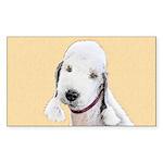 Bedlington Terrier Sticker (Rectangle 10 pk)