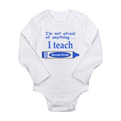 SECOND GRADE Long Sleeve Infant Bodysuit