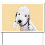 Bedlington Terrier Yard Sign