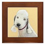 Bedlington Terrier Framed Tile