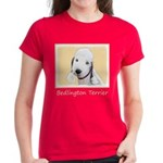 Bedlington Terrier Women's Dark T-Shirt