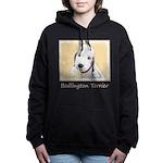 Bedlington Terrier Women's Hooded Sweatshirt