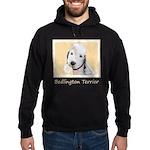 Bedlington Terrier Hoodie (dark)
