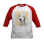 Bedlington Terrier Kids Baseball Jersey