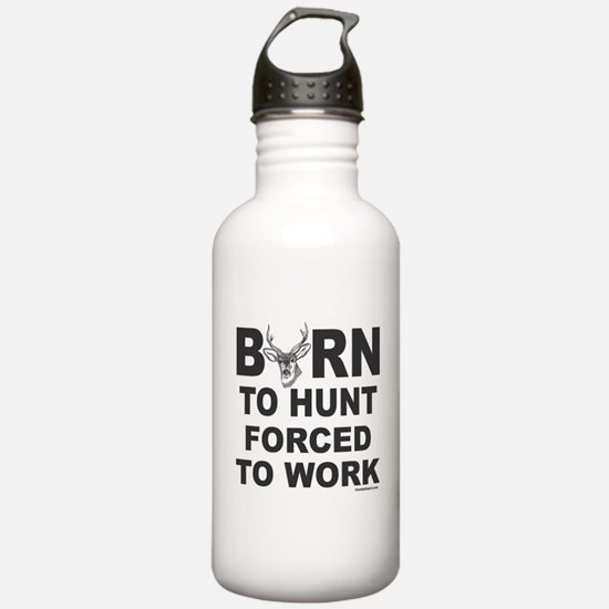 BORN TO HUNT Water Bottle