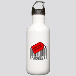 ALCOHOL ABUSE PREVENTION Stainless Water Bottle 1.