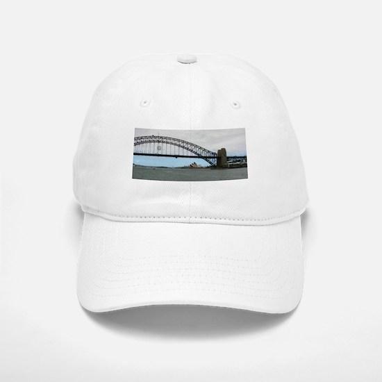 Opera House & Harbor Bridge Baseball Baseball Cap