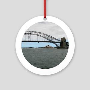 Opera House & Harbor Bridge Ornament (Round)