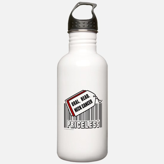 ORAL HEAD NECK CANCER Water Bottle