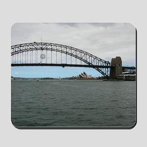 Opera House & Harbor Bridge Mousepad
