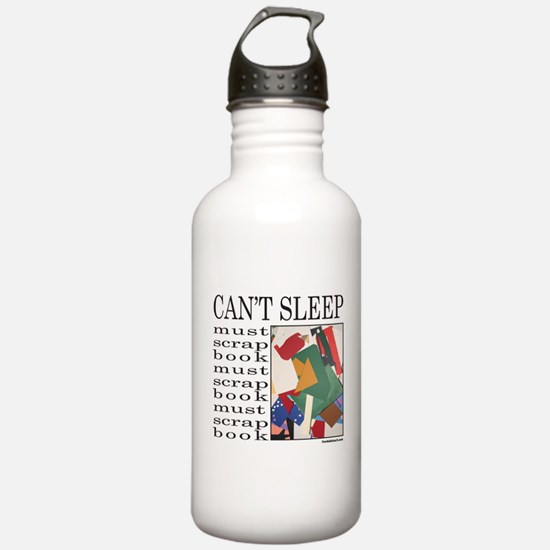 SCRAPBOOKING Water Bottle