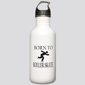 BORN TO ROLLER SKATE Stainless Water Bottle 1.0L