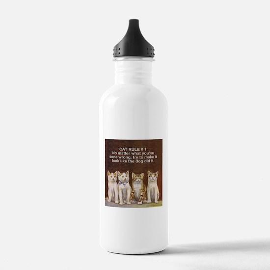 CUTE KITTEN/CAT Water Bottle