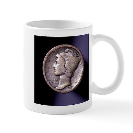 1917 Dime Mug