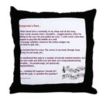 Songwriter's Throw Pillow