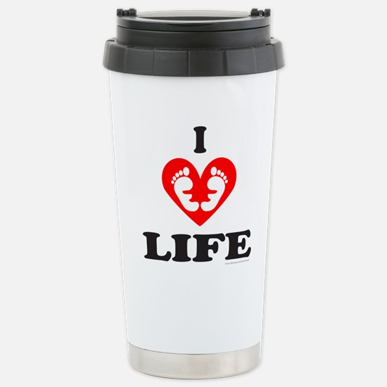 PRO-LIFE/RIGHT TO LIFE Stainless Steel Travel Mug