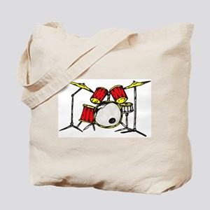 Drum Set Tote Bag