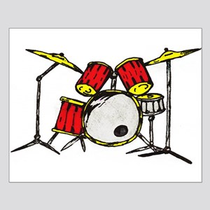 Drum Set Small Poster