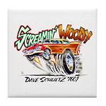 Screamin' Woody Tile Coaster